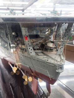 "IJN Aircraft Carrier ""Akagi"" 1/100 scale #1K"