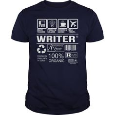 Awesome Tee For Writer T-Shirts, Hoodies. Check Price Now ==► https://www.sunfrog.com/LifeStyle/Awesome-Tee-For-Writer-108375065-Navy-Blue-Guys.html?id=41382