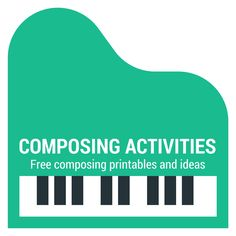 Jazz Piano Lessons Free printables, activities and advice for teaching composing to young piano students. - Discover more great books Teaching Orchestra, Piano Teaching, Learning Piano, Teaching Tools, Piano Lessons, Music Lessons, Keyboard Lessons, Piano Recital, Learning Techniques