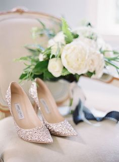 Chic and classy wedding day shoes, perfect for a Central Park wedding in New York CIty