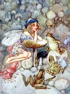 Helen Jacobs illustration, 1919.