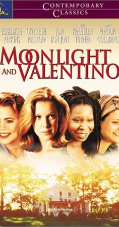 MOONLIGHT AND VALENTINO Directed by David Anspaugh. With Elizabeth Perkins, Whoopi Goldberg, Kathleen Turner, Gwyneth Paltrow. A young widow still grieving over the death of her husband finds herself being comforted by a local housepainter. Movies 2019, Hd Movies, Movies Online, Love Movie, Movie Tv, Elizabeth Perkins, Kathleen Turner, Movie Synopsis, Chick Flicks