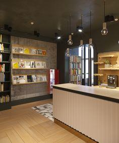 книжный магазин МарьИвановна город Иркутск автор проекта Елизавета Макотина и Павел Макотин