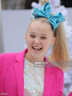 Dancer Joelle Joanie 'JoJo' Siwa attends the premiere of Columbia Pictures' 'The Star' at Regency Village Theatre on November 12, 2017 in Westwood, California.