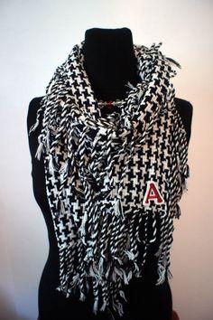 Game day shawl.
