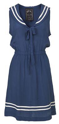 Great sailor dress by Edith & Ella
