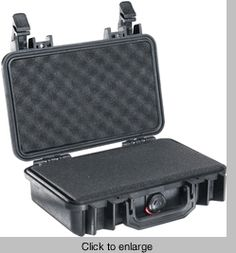 Pelican 1170 Case With Foam - BLACK - click to enlarge