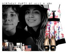 """""""Birthday party of Ally (22) & Ash (21)"""" by giovannacarlamalik ❤ liked on Polyvore featuring Giuseppe Zanotti and LORAC"""