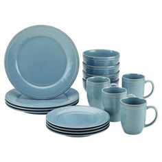 16-Piece Cucina Dinnerware Set Add a classic touch to your tablescape with this ceramic dinnerware set, perfect for serving Sunday brunches or weeknight dinners.  ...
