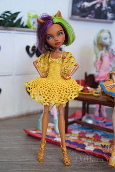 MH doll  Custom  Dress shorts and shawl style 4 by Dollheimr