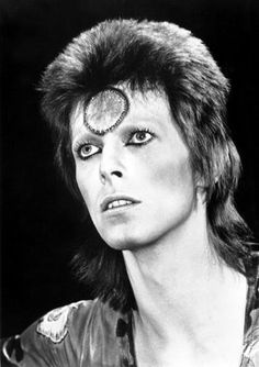 David Bowie - 'Ziggy Stardust', 1972. I worshipped Bowie/Ziggy and his Spiders From Mars during the 70s.