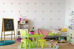 Once Upon a Time Vinyl Wall Decal Sticker - Perfect for Kids Rooms, Play Rooms, etc - Kids Room Decor - Story Time Art Wall Kids, Wall Art Sets, Diamond Wall, Pattern Wallpaper, 3d Wallpaper, Wallpaper Ideas, Stripe Wallpaper, Wall Decal Sticker, Decals