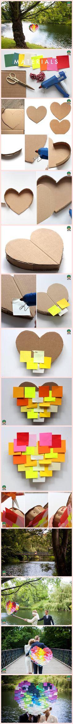 laboratori per bambini san valentino riciclo fai da te regalo kids craft valentin days love gift