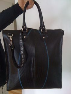 Lap Top Padded Bag in Recycled inner Tube from Tires by Neumatica, $100.00