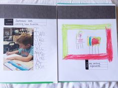 Kindergarten Personal Yearbook to always remember that year!