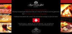 Chutney's goes Swiss at the Royal Windsor Hotel Grand Place.