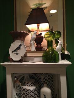 Shelf top decorating