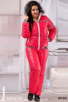 Лыжный костюм для полных 9730 Лыжные костюмы и комбинезоны оптом по низким ценам Red Leather, Leather Jacket, Bodycon Dress, Jackets, Dresses, Fashion, Studded Leather Jacket, Down Jackets, Vestidos