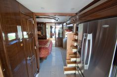 Great view down the hall of the #Newmar Essex RV