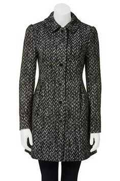 Harris Scarf. Luca & Marc ladylike coat. Textured.