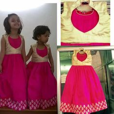 Frocks For Girls, Dresses Kids Girl, Kids Outfits, Kids Blouse Designs, Kids Party Wear, Kids Ethnic Wear, Kids Frocks Design, Kids Lehenga, Kids Gown