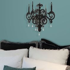 Foil 3D Faux Chandelier Black  by Lot 26 Studio  < Return to Home  Like this product?  ADD TO FAVORITES  32 0  $17fab