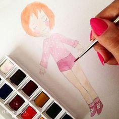 Elblogdelupi.com  #illustration #orange #hair