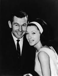 Johnny Carson & Joanne Copeland his second wife.