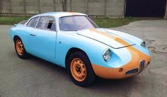 1959 Alfa Romeo Giulietta SZ Coda Tronca