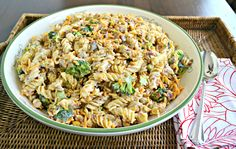 Broccoli Pasta Salad ~ The perfect salad for your next potluck. A traditional broccoli salad with added pasta with a creamy dressing. Broccoli Pasta Salads, Spiral Pasta, Tasty Kitchen, Side Dish Recipes, Side Dishes, Soup And Salad, Salad Bar, Pasta Dishes, Kitchens