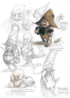 Jean-Baptiste Monge - Illustrator