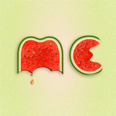 Use Brushes to Create a Watermelon Text Effect in Illustrator — Tuts+