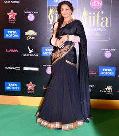 Vidya Balan on the IIFA 2013 Green Carpet #Bollywood #Fashion
