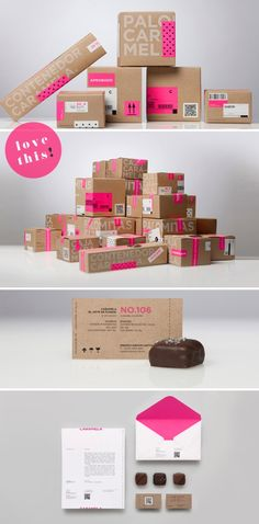 Image result for 1 color kraft packaging inspiration