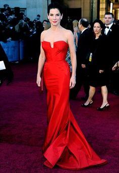 Stars in red : Sandra Bullock 1