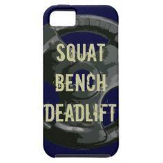 fitness phone case  Squat bench deadlift