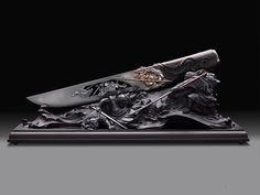Нож на подставке «Легенда о Масамунэ и Мурамаса»