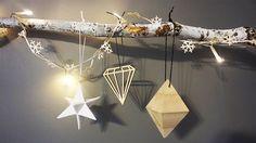 White Snowflake Fairy Lights