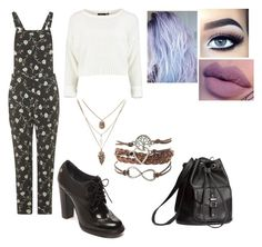 """Untitled #146"" by nikkidoesntcare on Polyvore featuring Topshop, Tommy Hilfiger and H&M"