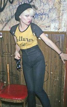 Debbie Harry. Yellow Tee.