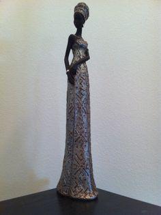 African Statue African Decor Tribal Art African by phantomas2011, $74.99