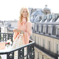 "2,698 Likes, 30 Comments - Megan Hess (@meganhess_official) on Instagram: ""Today in Paris, dressed in all @fendi on the balcony of my suite at @lebristolparis I'm ready for…"""