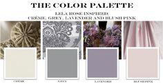Creme, gray, lavender and blush pink wedding color palette. Lavender Grey Wedding, Cream Wedding, Diy Wedding Flowers, Wedding Ideas, Wedding Gold, Lavender Color, Luxury Wedding, Burgendy Wedding, Maroon Wedding
