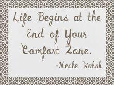 Comfort Zone #quote