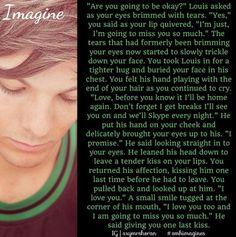 Louis imagine.. omg it's so sad!!!! :'(