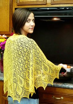 Omelet Knitted Shawl - free pattern