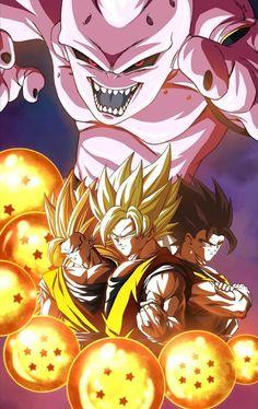 Saga de majin buu by: Akira, Dragon Ball Z, Goku Pics, Dbz, Posters, Wallpapers, Deviantart, Halloween, News