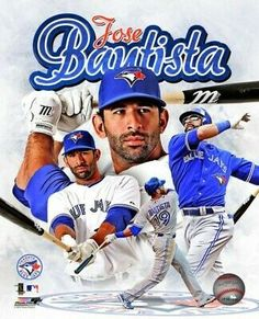 Jose Bautista 2012 Portrait Plus Photo Print x Vip Sports, Sports Baseball, Sports Images, Sports Photos, Joe Greene, Dolphin Photos, Beautiful Men Faces, Mlb Players, Football Pictures