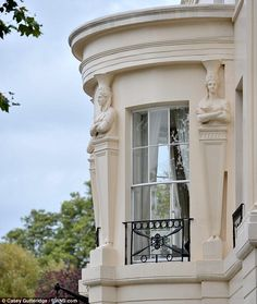 The world's most expensive terraced house 1 Cornwall Terrace,London. The most expensive property currently on the London real estate market,this home was designed by the same man that designed Buckingham Palace.   http://www.dailymail.co.uk/news/article-2225746/The-world-s-expensive-terraced-house-Grade-1-listed-home-goes-market-100million--designed-man-built-Buckingham-Palace.html#ixzz2AvSbT9Q2