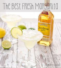 The Best Fresh Margaritaa